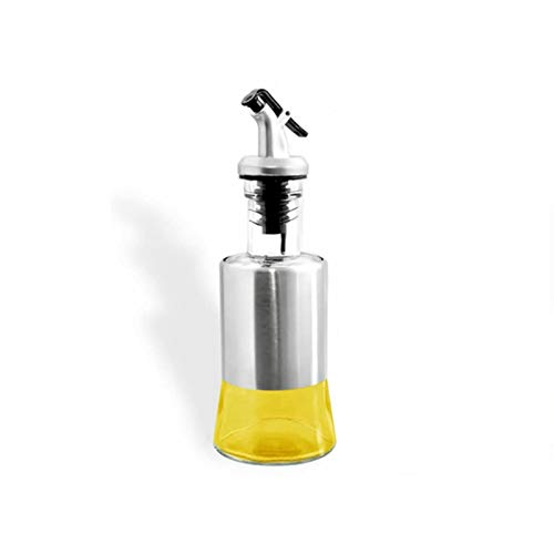オイルボトル ガラス オイルポット 油容器 調味料 容器 醤油ボトル/酢ボトル ドレ/オイルポット/ッシングボトル/漏れ防止 キッチン用品 (250ML×1)