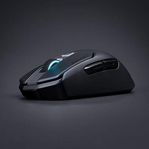 Roccat Kain 200 AIMO RGB Gaming Maus (16.000 Dpi Owl-Eye Sensor, Kabellos, Titan Click Technologie), schwarz - 8