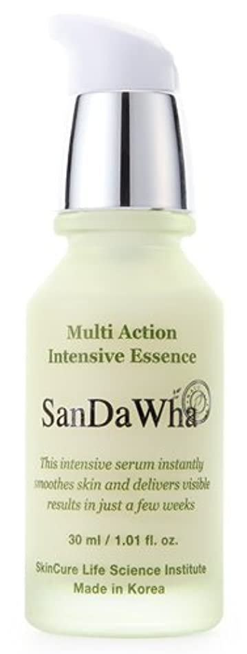 フェミニン活力薬を飲むSanDaWha Multi Action Intensive Essense(30ml)