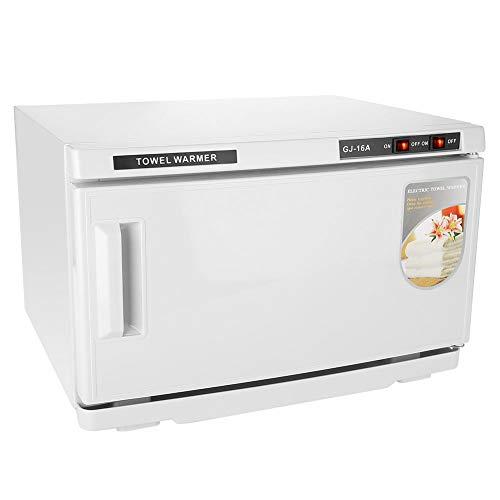 Handtuchwärmer, 16L UV-Heizung 2-in-1-Handtuchwärmer Desinfektionsschrank Sterilisator Sterilisationsmaschine