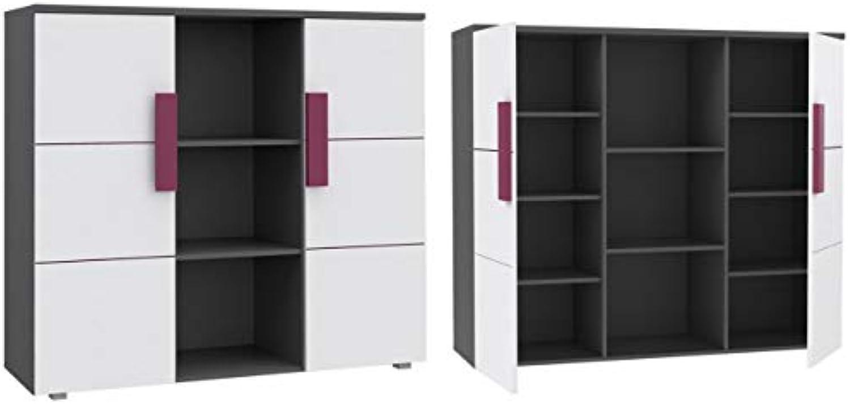 Furniture24_eu Schrank Hochschrank Kommode LIBELLE LBLK43