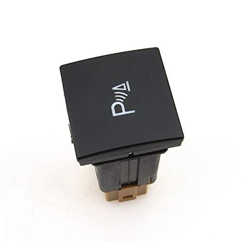 GESSIE WZ02 - Botón de interruptor de interruptor de radar reflexivo OPS Reflexivo Radar interruptor de cableado para Jetta Golf 6 MK6 16D927122 1TD927122 CH0408 (color: interruptor)