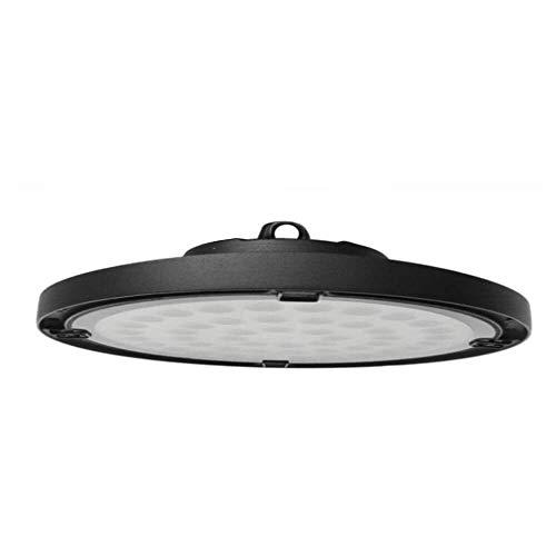 Campana LED Industrial suspendida 150W UFO Compacta Chip OSRAM 19500LM Luz Blanca Impermeable IP65 para Taller/Almacen/Naves/Industria (Blanco Frío 6000K)