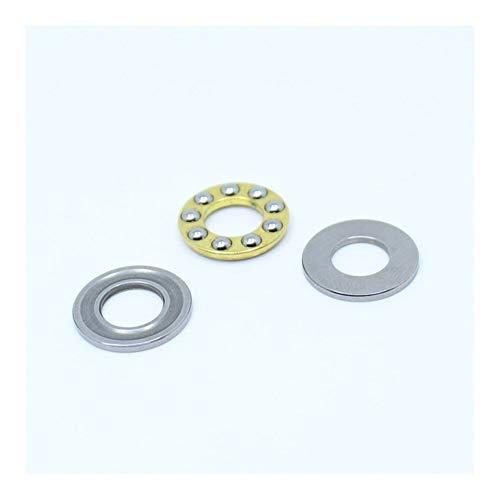 RUNGUANG LIGHTS WHJBR F2-6M F3-8M F4-9M F4-10M F5-10M F5-11M Miniatura Planar Bearing 2x6x3 4x9x4 3x8x3.5 4x10x4 5x11x4.5 di Spinta Cuscinetto a Sfere 100PC (Color : 100PCS, Size : F3 8M 3x8x3.5)