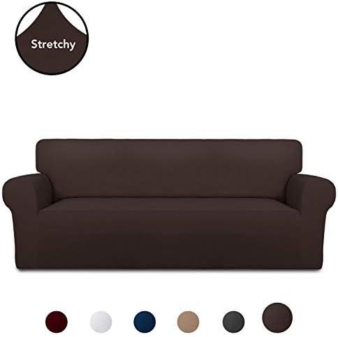 Best PureFit Super Stretch Chair Sofa Slipcover – Spandex Non Slip Soft Couch Sofa Cover, Washable Furn