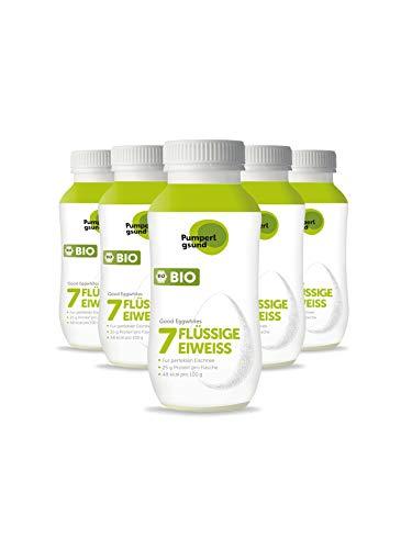 Pumperlgsund Eiklar, Flüssiges Eiweiß bis zu 3 Monate haltbar (Bio, 6 x 220ml), 1320 ml, 17,39 €/L