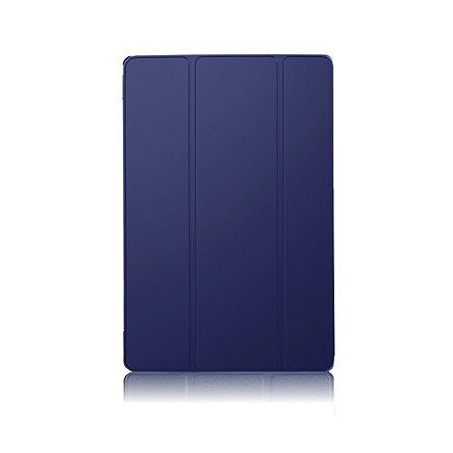 PauTion Sony Xperia Z3 Compact Tablet ケース Xperia Z3 Compact Tablet カバー 三つ折スタンド スマートカバー 傷つけ防 PUレザー (Sony Xperia Z3 Compact Tablet