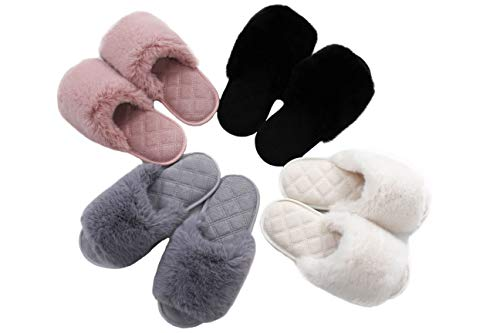 (55% OFF) Women's Memory Foam Slippers $11.70 Deal