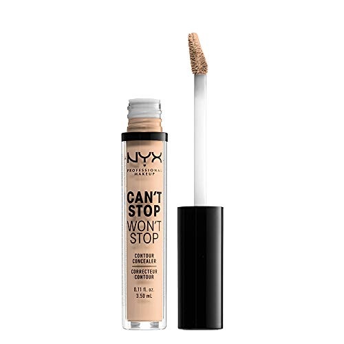 NYX PROFESSIONAL MAKEUP Can't Stop Won't Stop Contour Concealer - Vanilla, With Neutral Undertone