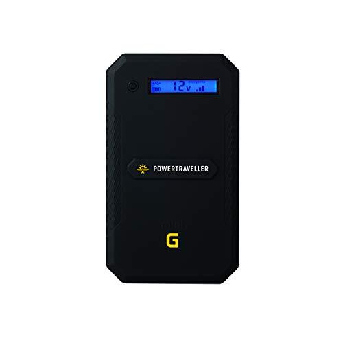 Powertraveller Mini-Gorilla Batterie de Recharge, Unisexe, Adulte, Noir