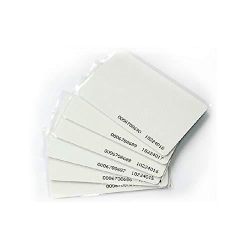 YIQINGLTD 35x RFID 125 kHz Karte EM4100 TK4100 0.8mm Chipkarte ID PVC-Karte fit Für Zutrittskontrolle Zeiterfassung