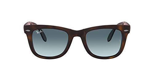 Ray-Ban 894/3M Gafas de sol, Matte Havana, 50 para Hombre