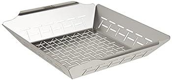 Weber 6434 Deluxe Ss Vegetable Basket Stainless Steel
