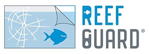ReefGuard ,SaveFilm, Auslaufschutz, Aquarium, Schutz, Folie, Schutzfolien, schützen, Glasbruch (1m x 76cm, Auslauschutz transp.)