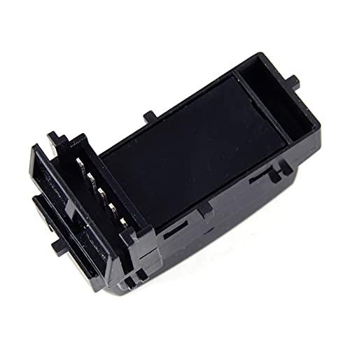 ZHANGJIN 15804093 Control Electric Master Door Block Interruptor Push Button Side Side ABS Black Fit para GMC Sierra Chevy Silverado