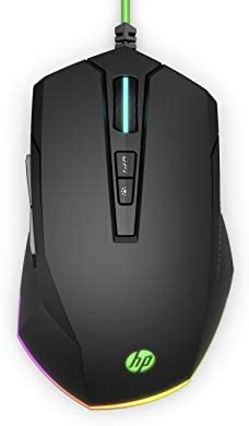 HP Pavilion Gaming 200 Wired USB Gaming Mouse 3 200 DPI Pixart Optical Gaming Sensor On The product image
