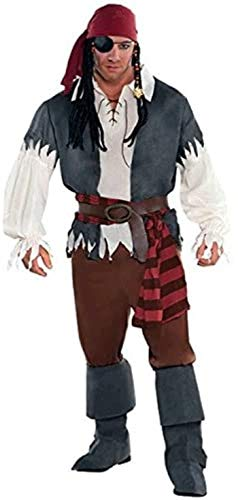 amscan - 844173-55 - Déguisement Pirate - Homme - Taille XL