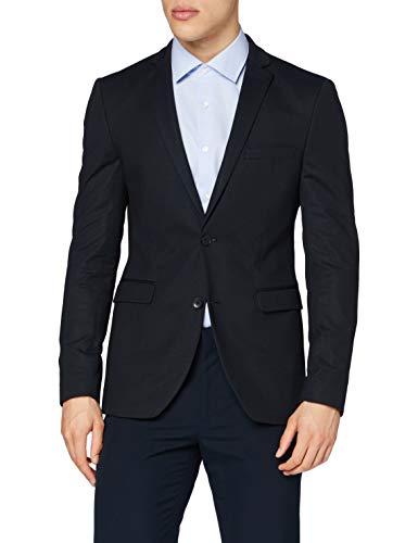 ESPRIT Collection Herren 090EO2G303 Blazer, 005/BLACK 5, 46
