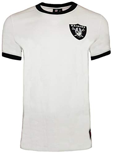 NFL Oakland Raiders Muscle Fit Ringer T-Shirt
