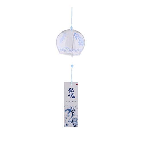 RLJJCS1163 Hecho a mano de cristal de Furin Menage Decoraciones Spa decoración de la cocina de la decoración de la decoración for el cumpleaños y vacaciones japonesa viento Campana Wind Chimes RLJJCS1