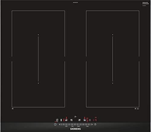 Siemens ED675FQC5E Fuochi 4 - Placa de inducción (60 cm), color negro