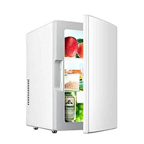 EWUGVK Mini Kühlschrank 18L Mini Kühlschrank Tragbarer Autokühlschrank Kleiner Kühlschrank Umweltfreundlich Stiller Kühlschrank Getränkekühlschrank,