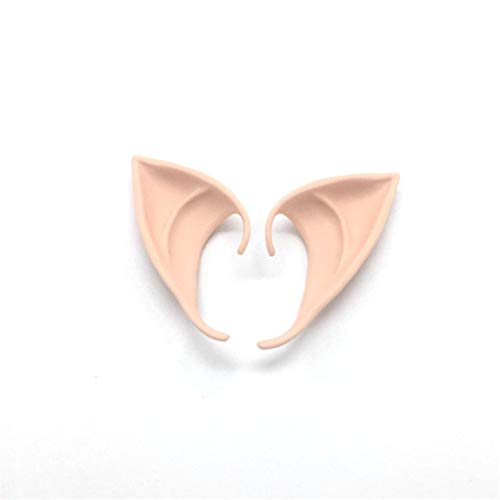 Desconocido Angel Elf Ears Soft False Ears Fiesta de Halloween Cosplay Accesorios - Color Claro