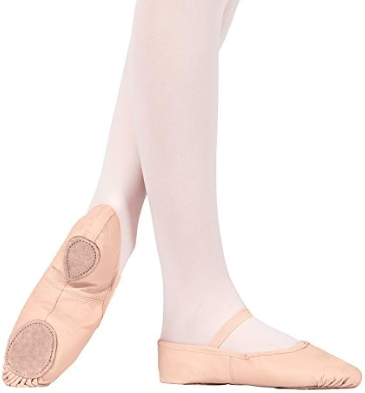 Theatricals Adult Leather Split-Sole Ballet shoes,T2700