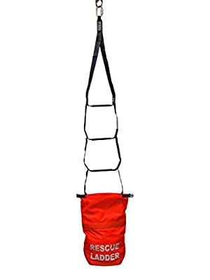 Malta Dynamics 18' Ladder Rescue System with Belay, OSHA/ANSI Compliant