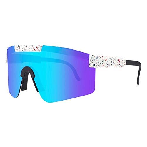 Bonbela UV400 Gafas de Sol al Aire Libre a Prueba de Viento Deportes Ciclismo Gafas de Sol