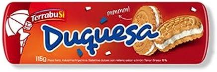 Terrabusi Galletitas Duquesa 115 gr. - 2 Pack | Sweet Cookies w/Lemon Flavor