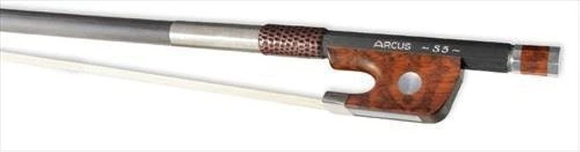 Arcus Cello Bow S5 Round Silver, Carbon Fibre 4/4 Full Size