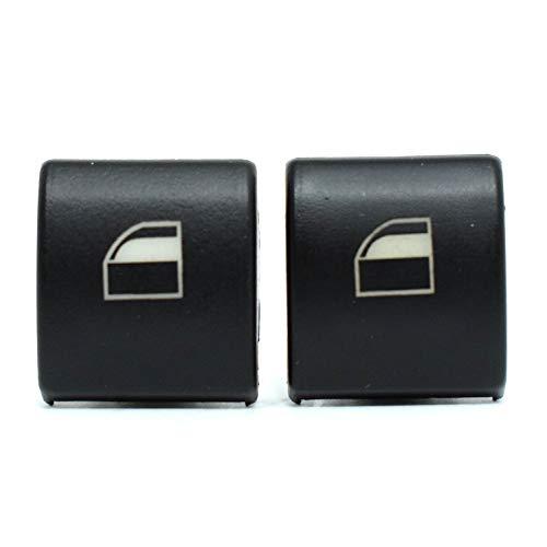 2X Vorne Links Rechts Fensterheber Schalter Taste Tasten Fensterheberschalter Reparatur Satz Schalttaste