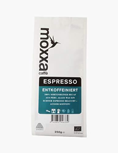 moxxa - Espresso entkoffeiniert 250 g gemahlen