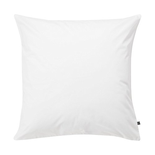 Jalla Taie d'oreiller, Coton, Blanc, 65x65 cm
