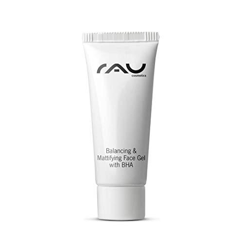 RAU Balancing & Mattifying Face Gel with BHA 8 ml - Soin de nuit régulateur pour les peaux à imperfections, nettoyage en profondeur des pores et régulation de la sécrétion de sébum - Taille Voyage Mini