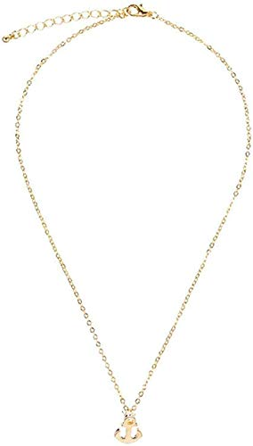 quanjiafu Necklace Temperament Anchor Girlfriend Sending Gift Ornaments Necklace