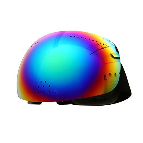 Skibrille, Große Kugelförmige Oberfläche, Vollgesichts-, Nasen- Und Schneebrille, Zweischichtiger Antibeschlag,3