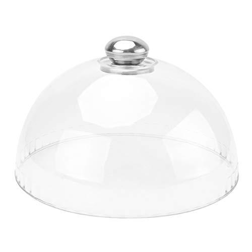 DOITOOL Couvercle transparent en forme de dôme pour gâteau, assiette de protection pour micro-ondes et micro-ondes