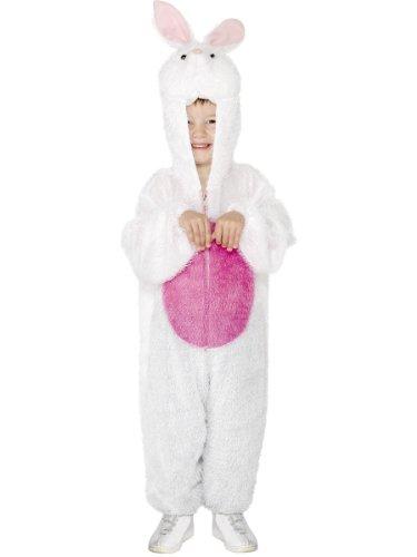 Kinder Kostüm Hase aus Polyester Gr. 110cm-130cm