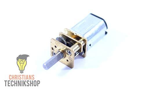 mini Getriebe Motor | DC12V N20 | 100rpm | Metal Zahnräder | Christian's Technikshop