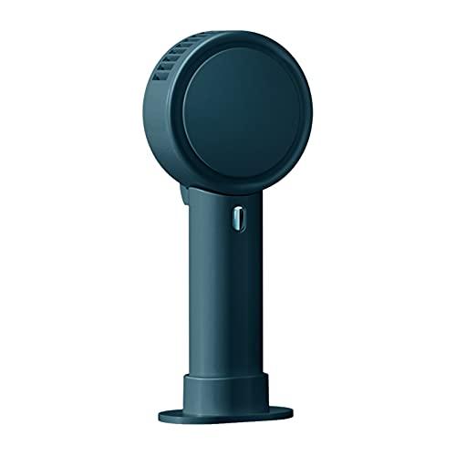 Tinked Ventilador de mano portátil 3 en 1 Collar de escritorio Ventilador de mano Ventilador de enfriamiento sin aspas Sda de aire giratoria de 180 grados 3 velocidades VentiladorVentilador De Mesa De