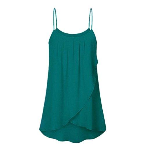 Susen Camiseta De Tirantes Mujer,Blusa Mujer Elegante Talla Grande,Fiesta Fitness Verano 2019 Elegantes Casual Fitness Moda
