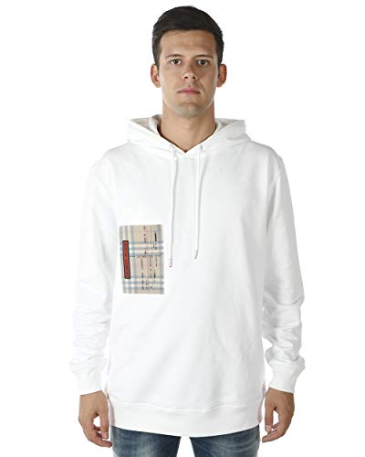BURBERRY - Herren Sweatshirt 8001387 White Checker M