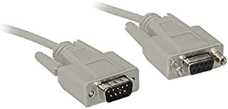 C2G/Cables to Go 02711 DB9 M/F Serial RS232 Extension Cable (6 Feet)