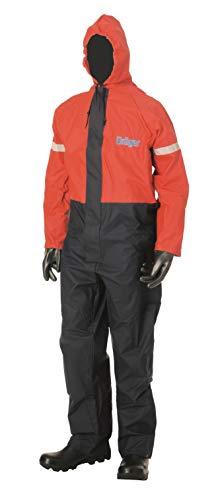 Dräger Mono de protección SPC 2400 Flexothane   Talla XL   Traje-Peto de Seguridad y Tejido Transpirable   Especialmente Ligero con Aprox. 0,7 kg