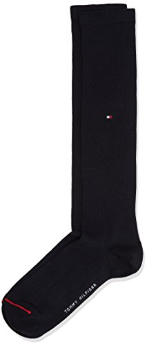 Tommy Hilfiger Madison Kneehigh, Chaussettes Montantes Homme Bleu (Dark Navy 322) 39/42