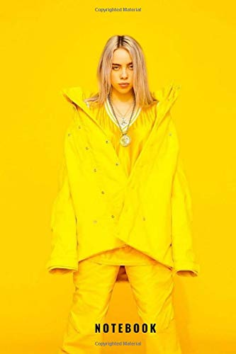 Billie Eilish Notebook and Journal Perfect for Birthday gifts and Fan club members: perfectly Lined journal with 140 pages , 6x9 inches
