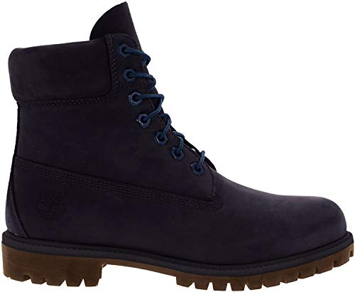 Timberland Mens 6 Inch Premium Waterproof Boots, Navy, 11.5 D(M) US