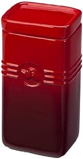Le Creuset Stoneware 2-Quart Coffee Storage Jar, Cerise (Cherry Red)